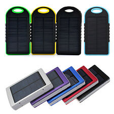 Solare Carica Batteria Caricabatterie 5000mAh/30000mA Cellulare USB Power Bank
