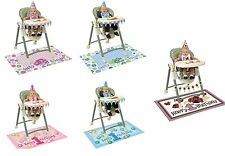 1ST FIRST BIRTHDAY PARTY BOY GIRL BLUE PINK HIGH CHAIR KIT HAT BANNER DECORATION