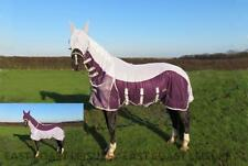 EQUIDOR BRISBANE HORSE FLY RUG COMBO WITH FREE FLY MASK LARGE BELLY STRAP