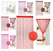 String Beads Curtain Door Hanging Tassel Curtain Portiere Decoration Brand New