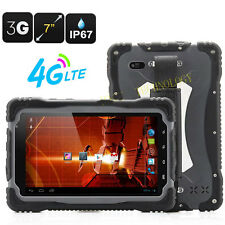 "7.0"" HUGEROCK-T70 RUGGED Tablet PC Outdoor Waterproof Smartphone 3G Android 4.2"