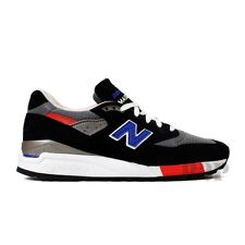 New Balance Made in USA Connoisseur Authors M998HL (Black/Blue/Red) Men's Shoes
