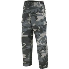 Army Tactical Trousers Cargo Mens Combats BDU Style Work Pants Dark Camo S-3XL