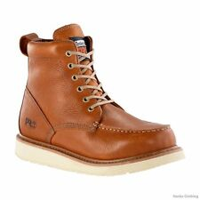 "Timberland Pro Men's Wedge Boot 6"" Rust Brown Leather 53009, TB053009214"