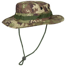 Military GI Boonie Army Bush Hat Cotton Ripstop Fishing Vegetato Woodland Camo