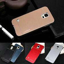 New Luxury Motomo Metal Aluminum Brushed Hard Skin Case Cover For Samsung Galaxy
