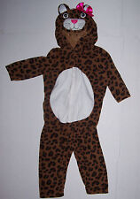 NWT OLD NAVY LEOPARD COSTUME 6 9 12 18 24 mo HALLOWEEN DRESS UP