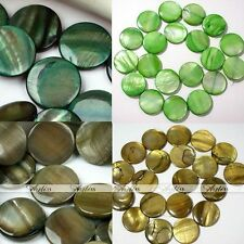 Strand Round Natural MOP Shell Loose Beads Charm Fit Jewelry Makings Finding DIY
