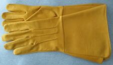 Civil War Leather Gauntlets - Expanded Cuff for Artillery - Cavalry - Infantry