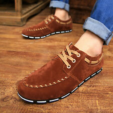 New Leather Slip On Mens Driving Moccasin Loafer Casual Shoes US Size6.5-10 BR81