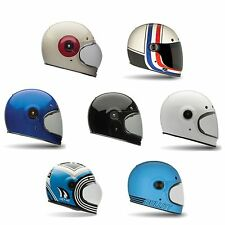 Bell Bullit Motorcycle/bike del casco-vintage/classic/star style/cafe Racer