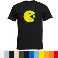Manny Pacquiao Pac Man VS. Money Mayweather T-Shirt funny boxing humor