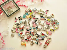 Floating Charms for glass memory lockets- HOBBIES, PASSIONS, PROFESSIONS