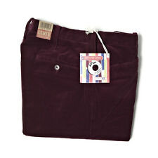 LEVI'S VINTAGE CLOTHING AW13 1964 STA PREST TROUSERS WINDSOR WINE CORD RRP £160