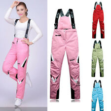 1 Women Lady Insulated Ski Snowboard Sporting Pants Outdoor Waterproof Trousers