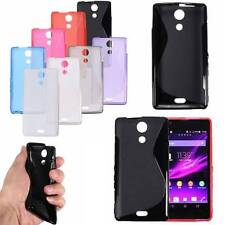 S-LINE FUNDA FLIP ULTRA SUAVE TPU GEL CARCASA CASE COVER PARA Sony Xperia Phones