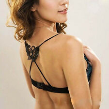 Women Girl Fashion Sexy Underwear Cross Back Butterfly Bra Shoulder Strap