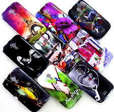 MICROMAX CANVAS 3 HD A116 WATER PRINT GLOSSY SILICON BACK CASE COVER