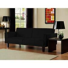 Microfiber Futon Sofa Bed Living Room Couch Seating Cover Furniture Full Sleeper