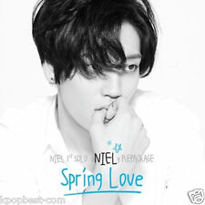 NIEL TEEN TOP - Spring Love(1st Solo REPACKAGE Album) CD+Photo Book Card+Poster