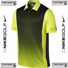 Nike Tiger Woods TW Golf POLO  - BLACK VENOM GREEN-  MSRP $95  -  55% OFF