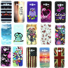Stylish Hybrid Patterned Soft TPU Back Cover Case Skin For Samsung Galaxy Phone