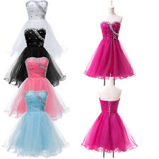2015 NEW A-line Junior Prom Graduation Pageant Cocktail Short Party Gown Dresses