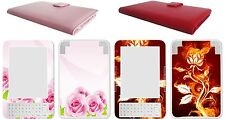 Amazon Ebook Kindle 3 Kindle Keyboard PU Leather Case Cover + Decal Art Skin