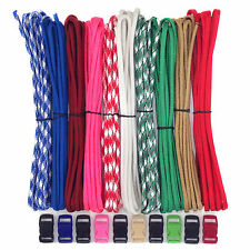 All in one Paracord and Paracord Accessories DIY Kit - 100 Ft 10 Buckles + Free