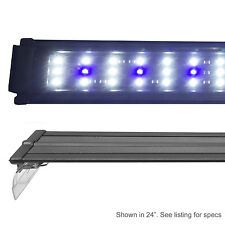 EX 0.10W LED Aquarium Light 18 20 24 30 36 48 HI Freshwater Cichlid Fish
