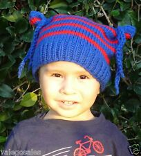Valego Sales Handmade Knitting Baby Infant Toddler Child ~ FUNNY HAT Beanie #007