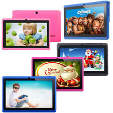 7'' Tablet PC Google Android4.4 Kids PAD 16GB Quad Core Dual Cameras WIFI Colors