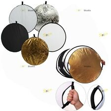 5in1 Photo Studio Collapsible Multi Disc Light Reflector for Photography Light
