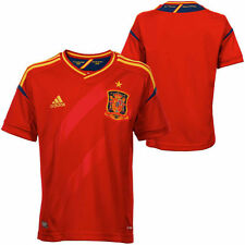 adidas Spain Youth Red Soccer Home 2012 Replica Jersey