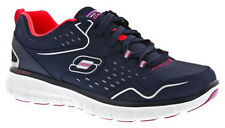 Skechers SK12013 Ladies Leather Synergy Front Row Sports Trainers Womens Shoe