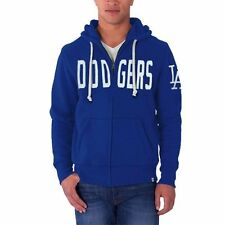 L.A. Dodgers '47 Brand Cross Check Full Zip Hoodie - Royal Blue