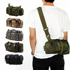 Utility Tactical Waist Pack Pouch Military Camping Hiking Bag Outdoor Bag Back