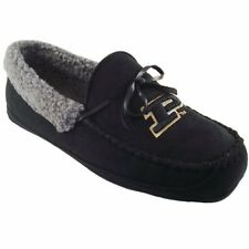 Purdue Boilermakers Canoe Moccasin Slippers - Black - College