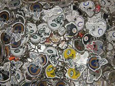 Pick Your Team: Vintage NFL Double Sided Key Chains Multiples Available