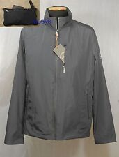 $185 TUMI トゥミ Pack-A-Way Windbreaker Jacket Rain Coat INDIGO XL Men Father Gift