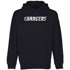 San Diego Chargers Youth Faded Wordmark Hoodie - Navy Blue - NFL