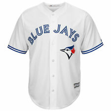 Toronto Blue Jays Majestic Youth Official Cool Base Jersey - White - MLB