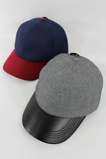 New Women Men Banana Republic Baseball Cap Fashion Hat Gray Black / Blue Red