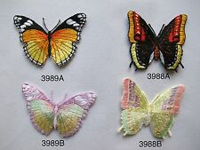 #3988,3989 Butterfly Embroidery Iron On Applique Patch