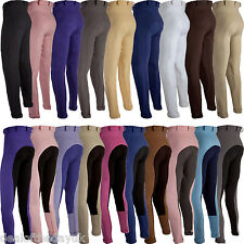 Ladies Horse Riding Jodhpurs Breeches 24 26 28 30 32 Size 8 10 12 14 16 Womens