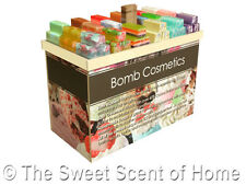 Bomb Cosmetics Handmade Luxury Scented Soap with ESSENTIAL OILS Vegetarians NEW