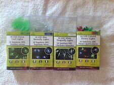 Battery-Operated LED Spring-Shapes String Lights, 10-ct. Strands