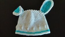 New Handmade Crocheted Baby Easter Bunny Hat Photo Prop Hat All Sizes Available