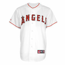 Los Angeles Angels of Anaheim Majestic Big & Tall Replica Jersey - White - MLB