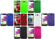 Hard Rubberized Snap-On Case Cover for LG Optimus G Pro E980